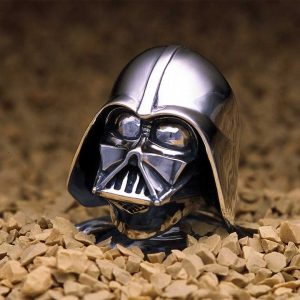 Darth Vader ring. (Credit: J.A.P. Inc.)