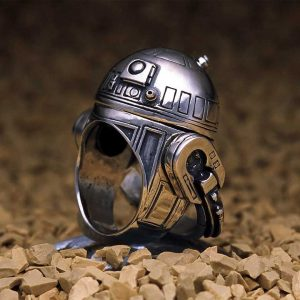 R2-D2 ring. (Credit: J.A.P. Inc.)