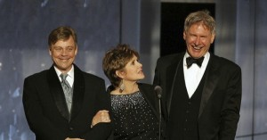 Mark Hamill, Carrie Fischer, & Harrison Ford