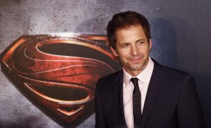 "Director Snyder poses for pictures after his arrival to the Australian premiere of ""Man of Steel"" in central Sydney"