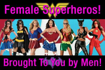 female superhero movies made by men