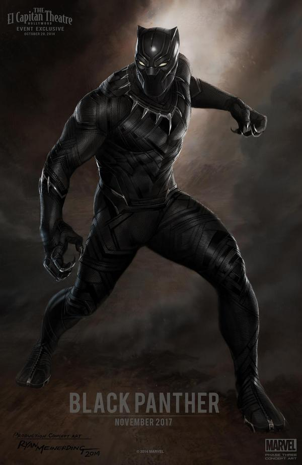 First look at Black Panther (courtesy of Marvel)