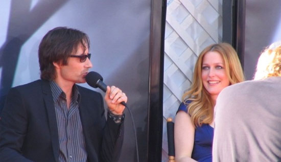 David Duchovny and Gillian Anderson. (Credit: KellyBeth7/Wikimedia Commons)