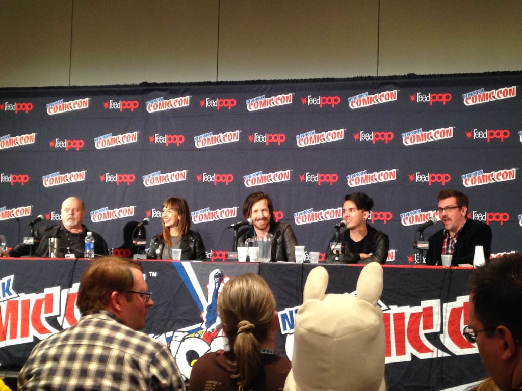 Extraterrestrial panel at the 2014 New York Comic Con. (Credit: Rogue Planet)