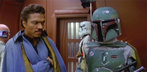 Lando Calrissian and Boba Fett.