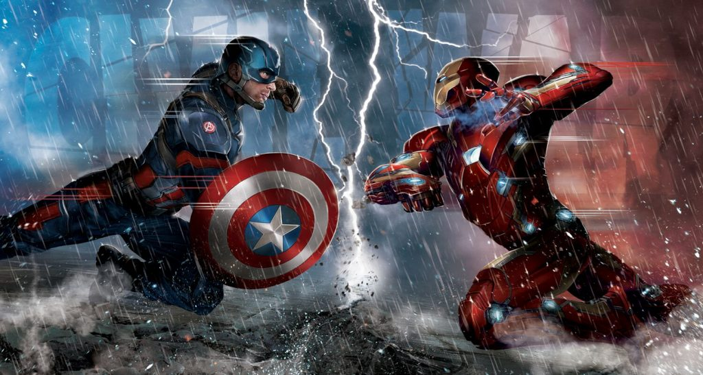 Civil War Promo - Cap vs Iron Man