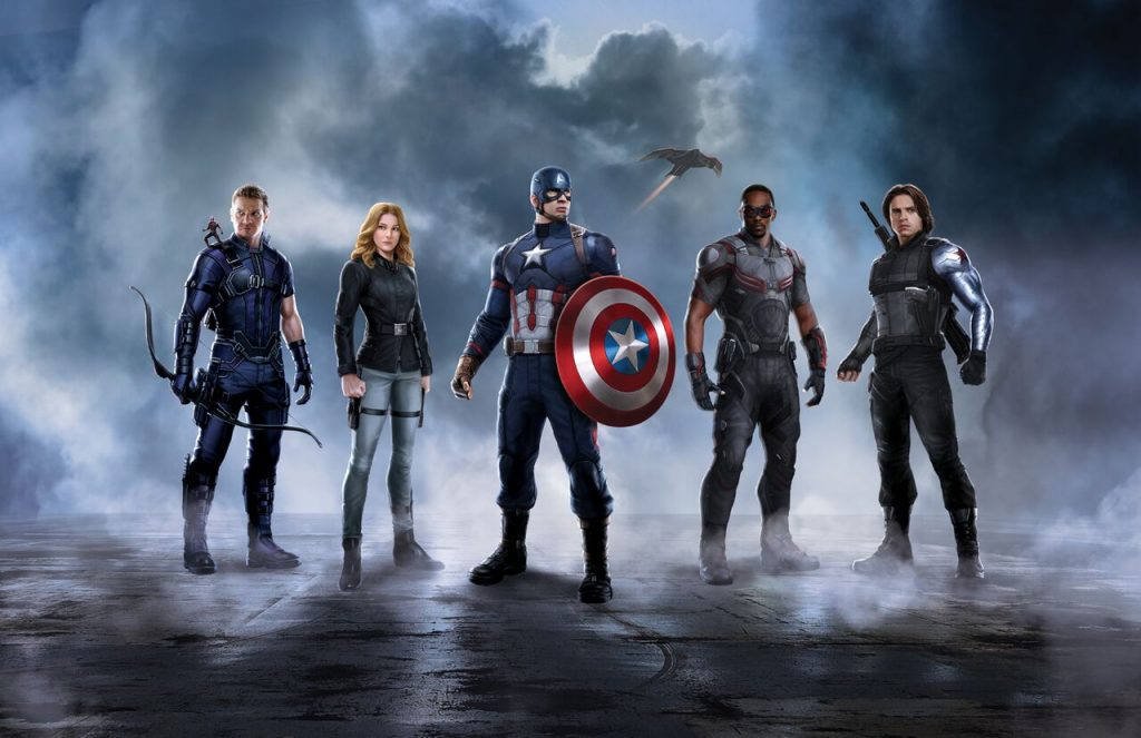 Civil War Promo - Team Cap