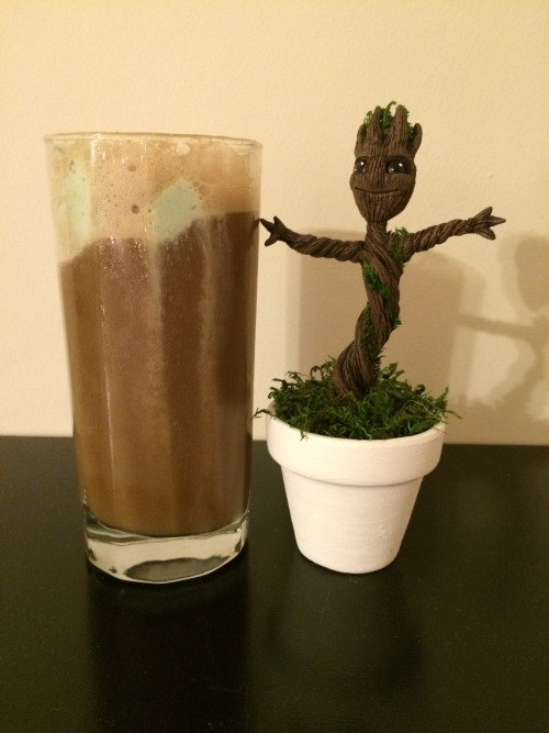 Groot Beer Float
