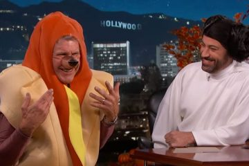 Harrison Ford Hotdog on Jimmy Kimmel