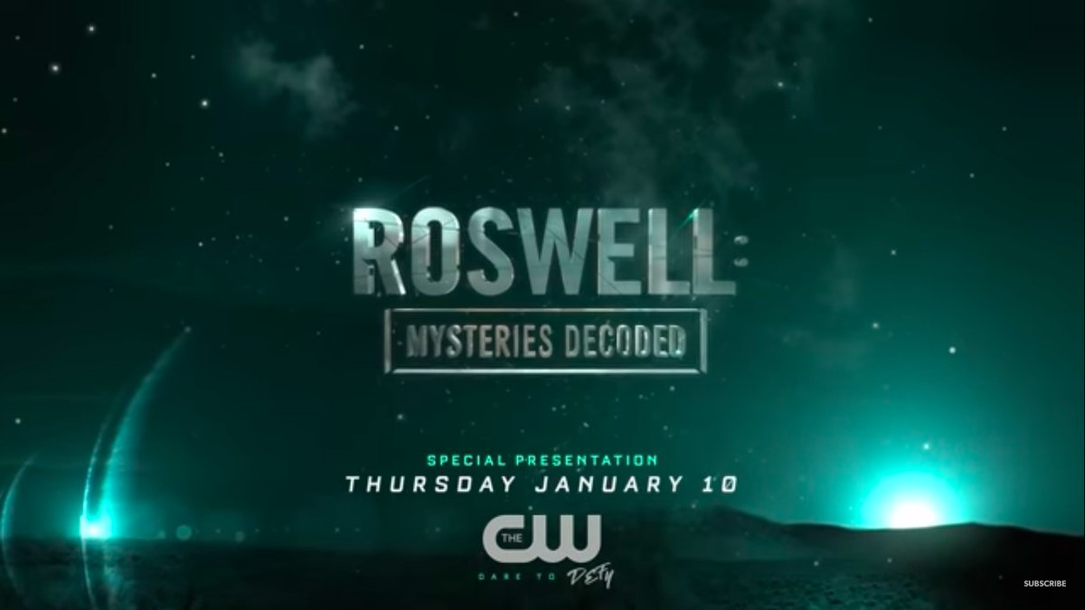 Roswell: Mysteries Decoded (credit: The CW)