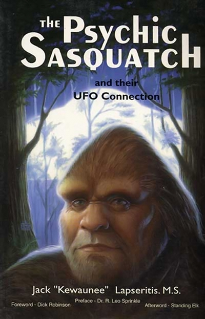The Psychic Sasquatch cover
